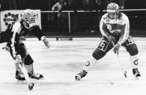 Foto: Cohnny SkoglundMagnus Granberg var urtypen för en irrationell forward – med ett lika vasst som avigt skott.