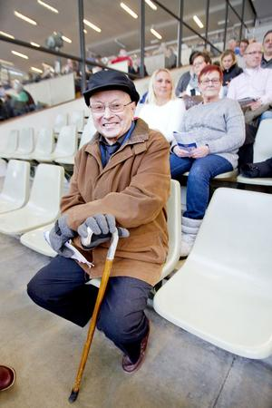 Per Larsson har varit travsporten trogen sedan 1948.
