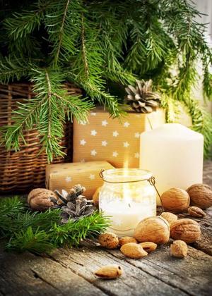 Nötter och jul hör ihop.Foto: Olga Pink/Shutterstock.com