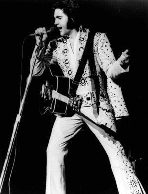 För Frederik Zäll är Elvis det självklara musikvalet när det vankas grillat.