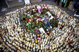 Hade mördaren i Trollhättan en enorm armé av hatare i ryggen? Bild från skolgården.