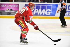 Maxim Lapierre gjorde ett av Modos mål i förlustmatchen mot Brynäs.