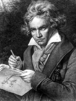 I Mickes iPod: Mann, Skogman och Beethoven.