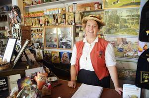 Carina Grahn Hellberg driver Gamla lanthandeln i Krokom och är även ordförande i Krokoms byförening.