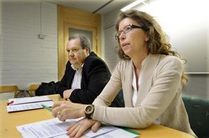 Jan Wiklund (M) och Lena Reyier (C), oppositionsråd i landstinget, vägrar acceptera vänsterpartiernas förslag om skattehöjning. Den slår både mot pensionärer och mot effekterna av jobbskatteavdraget.