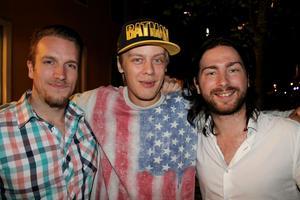 Adam, Robin, Jesper.