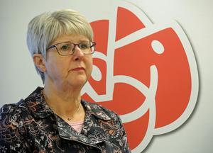 Anita Nordström, ordförande i omsorgsnämnden, ser inga fördelar med att släppa in privata utförare i äldreomsorgen.