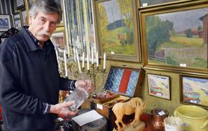 I dag, fredag, visar Peter Ericsson det som ska säljas vid lördagens kvalitetsauktion i Bollnäs.