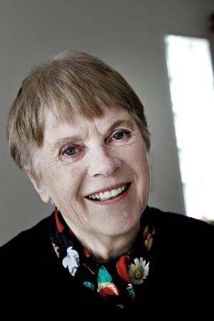 Anne-Maj Berggren lärde sig tycka om gamla saker av sin farmor.