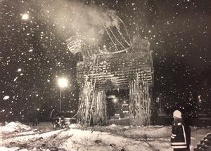 Trots bevakning brann bocken 1986.