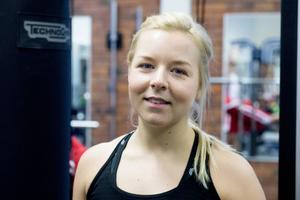 Maria Persson, gruppträningsinstruktör på Sensia.