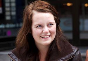 Cecilia Östman, 18 år, Östersund– Nej, det är inte varje dag jag uppdaterar men jag gör det när jag har något att berätta.