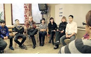 Klassrumsbesöken har gett mycket och varit givande, säger deltagarna. Foto: Bengt Pettersson