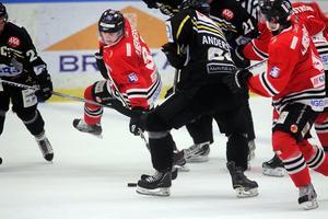 Pontus Wernersson Libäck skickade in 1–0-målet mot Åkers.