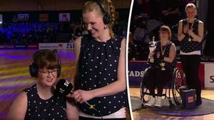 Malin Larsson och Angelica Nilsson kan fira SM-guld.