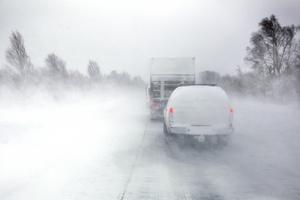 Polisen och SMHI varnar för vädret. Bilden är en arkivbild.