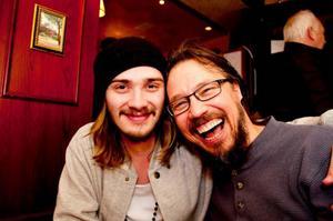 Trevlighetsnivån på maltfestivalen sammanfattas av Jimmy Persson och Lars Wikström: