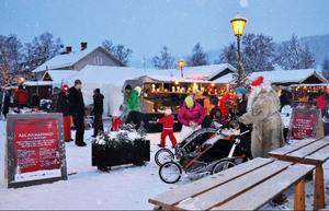 Åres julmarknad började i går och fortsätter fram till söndag. Den arrangeras även i år av Fieldwork Åre med Calle Hedman i spetsen.