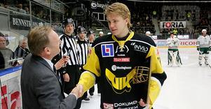 Bästa junioren i årets allsvenska - William Karlsson fick Guldgallret.