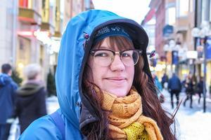Kamilla Svanlund, 30 år, Östersund: – Ja det gör de. Jag har föräldrapenning. Och jag har samma inkomster och utgifter som vanligt.