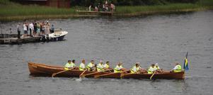 Smedjebackens kyrkbåtsroddare vann kampen mot Fagersta och Hallstahammar.