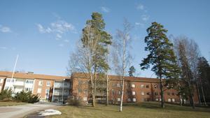I dag är Norrbygården asylboende. Fagersta har sagt nej till att förlägga äldreboende här.