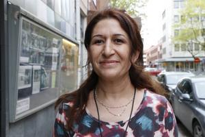Turkan Kaya är verksamhetsansavrig på Brynästorget, i kulturföreningen Kulturum. Hon är initiativtagare till teaterprojektet.
