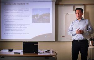 Produktutvecklingschef Stefan Onkenhout presenterade satsningen.