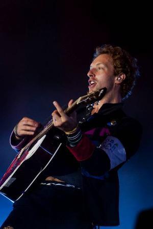 Coldplays sångare Chris Martin kommer i kväll att äntra scenen på Stockholms stadion inför 30000 konsertbesökare, när bandet besökte Sverige för första gången 1998 kom bara 300 personer till deras spelning på Kägelbanan.Foto: Thorkild Amdi/AP/Scanpix