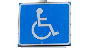 Handikapparkering.
