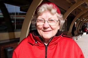 Marianne Rörborn, Svenstavik:– Värst är det väl för dem som befinner sig långt borta och inte kan ta sig hem när flygen är inställda.