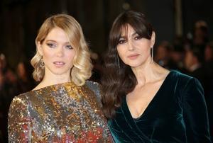 Léa Seydoux och Monica Bellucci spelar de kvinnliga huvudrollerna i