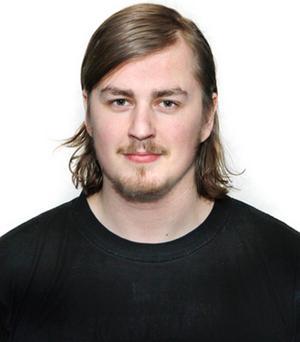 Jonathan Grudd, sportreporter NT.