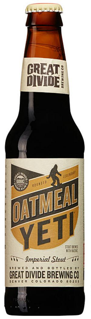 Great Divide Brewing CO Outmeal Yeti.