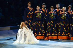 Yulia Samoylova, som skulle ha framfört Rysslands bidrag i Eurovision, får inte delta i Ukraina.