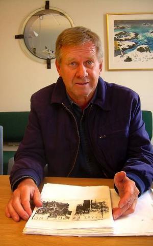 Efter FN-tjänsten började Christer Johansson intressera sig för Cypern och av hans inblickar i konflikten har det blivit ett bokmanus.Foto: Lennart Öhd