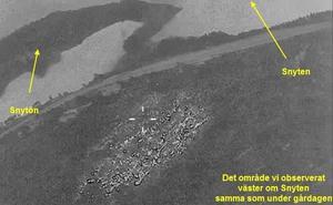 Bild som kustbevakningen lade ut på sin hemsida i dag.