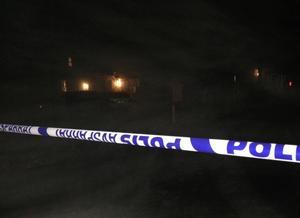 En man sköt mot en annan man i Husum under eftermiddagen på onsdagen.
