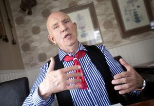 Björn Colliander har många ideér om hur Dellenbygden ska utvecklas.