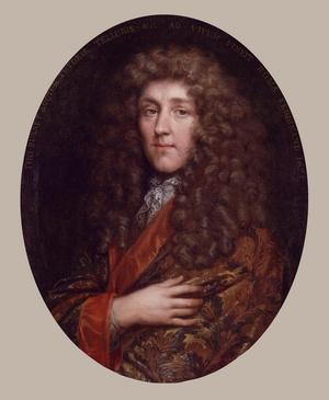 Thomas Burnet 1675. Målning av Jacob Ferdinand Voet.