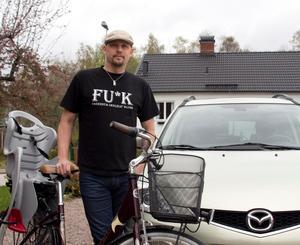 Ricky Mähl går till jobbet nästan varje dag, året runt. I morgon hoppas han att fler väljer att lämna bilen hemma i garaget.