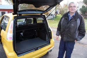 En tvåsitsig bil i den här storleken har ändå plats för ett rejält bagageutrymme.