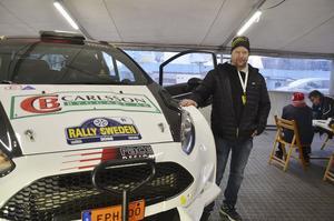 Fredrik Alsdal har spenderat mycket tid i verkstaden med sin Ford Fiesta.