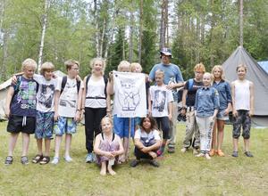 Från Boden. Lägrets mest långväga kår är från Boden. De kampar tillsammans med scoterna från Köping.