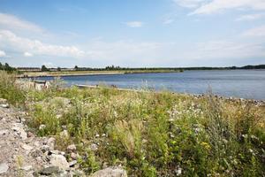 EVIGHETEN. Här tar staden Gävle slut. Sen tar vattnet och evigheten vid.