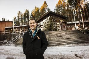 Jens Larsson, vd för Järvzoo, är glad över nomineringen.