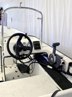 Båten kostade 70 000 kronor.