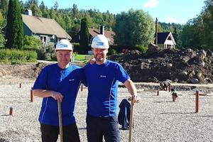 En stor satsning för oss och väldigt spännande, konstaterar Peter Nilsson och Marcus Blomqvist, som ska driva den nya Meca-verkstaden i Vattjom.