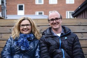 Camilla Karlsson leder körer hos Jämtlands musikskola som drivs av Jonas Hagström.