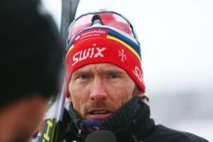 Johan Olsson visade att gammal är äldst i första loppet på ett och ett halvt år.